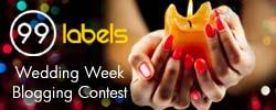 99labels wedding week blogging contest